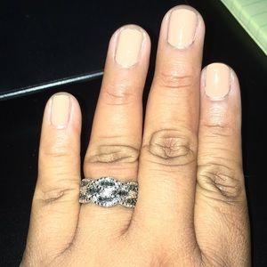 Kay's 1/4 CTw Black diamond ring sterling silver